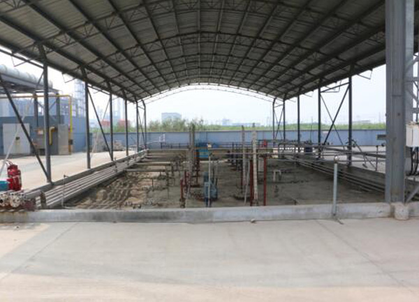 Integrated Storage Tank area